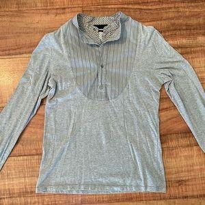 Alexander McQueen long sleeve double shirt